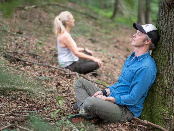 Waldbaden ist wohltuend für Körper und Geist